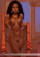Nubian Princess by FransMensinkArtist