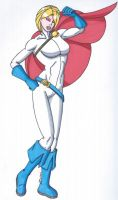 Power Girl Redesign by RobertMacQuarrie1