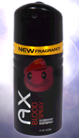 AX Blood Spray by GageS