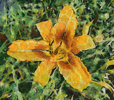 Van Gogh Tiger Lilly by diverse-norm