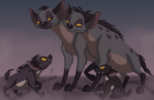 Maumbu's family by LuxBlack