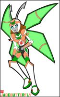 Jadebutterfly Outline Coloured by HealerCharm