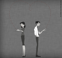 Paperman by iToriiii