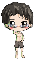 Bruce Banner Chibi by IcyPanther1