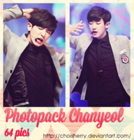 Photopack 01 - Chanyeol (EXO) by choisherry