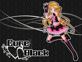Pretty Cure ~ Cure Black New Version by Ikuto90