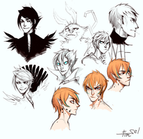 Sketches \0/ by Timsel-kun