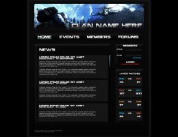 Bad Company 2 Clan Webpage by BrotherPrime