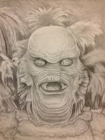 Rise of The Gill Man by PaulSpatola