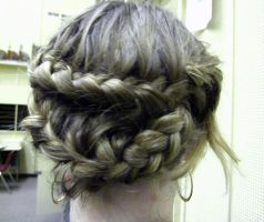 Zig Zag French Braid by kristollini