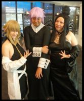 Surrounded by witches!!!! by Hikarikun18