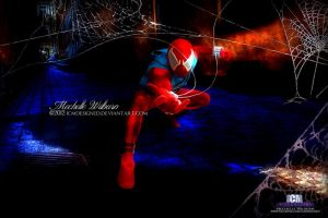 Scarlet Spiderman by ICMDesigned