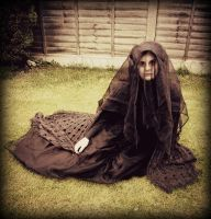 The Woman in Black cosplay by FlyingSparrow