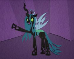 I'll Be Back! - Queen Chrysalis by aha-mccoy