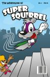 Super Squirrel Cover by PalliePascal