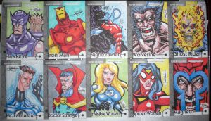 Marvel Retro Cards 04 by WOLVERINE76