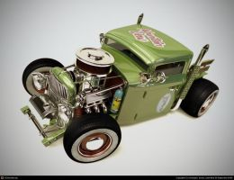 super deformed ford 28 by xtrm3d