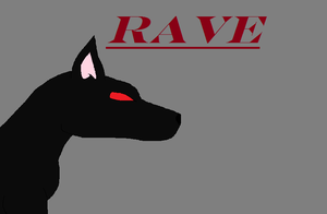 Rave dog by AmiInu