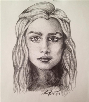 Game of Thrones: Khaleesi by KirchyBaby