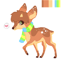 Deer Custom for Litica! by misconceiving
