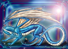 Cobalt: The Guardian Dragon by TheGuardianDragon
