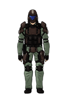 Airsoft ODST Training Gear by Izaak94