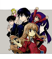 Toradora Group by Takasu-kun