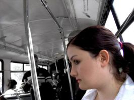 Friend on Bus by jclairem