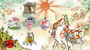 Okami Characters Icon Pack by uLtRaMa6nEt1cART