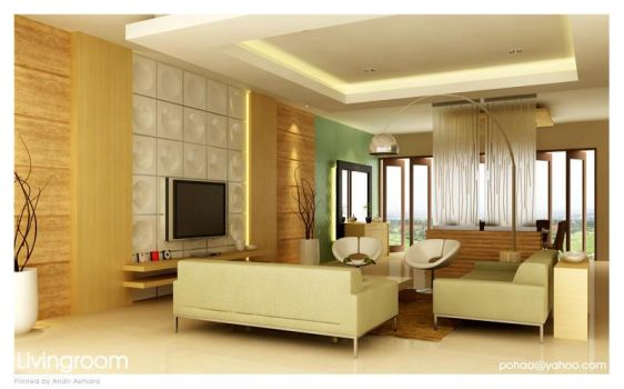 Living Room - Jakarta by pohaa