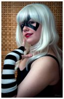 Black Cat Domino mask by djorgensen