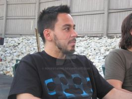 Mike Shinoda Noblesville, IN by rockSTARmE