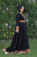 Burgundian gown by Laerad