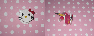 Hello Kitty Earphone Organizer by ichigoluv