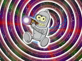 Baby Bender desktop wallpaper by littleporkchop