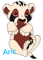 Aric-The smallest cub of Abeni's Pride by TwilightLuv10