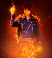 Roy Mustang by meganxichigo