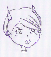 Headshot Sketch - sug chan. by Tatriana
