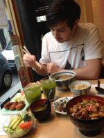 Traditional Japanese Food Paris by guiltyr
