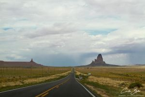 Entering Monument Valley by CamStatic