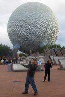 Dane at EPCOT by Doom-Tanker