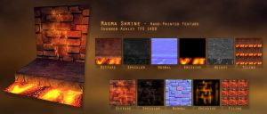 Tiling Lava Room by LuckySquid