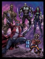 GUARDIANS OF THE GALAXY by DAVID-OCAMPO