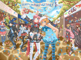 TM 2nd Anniversary by Seaside-Bunny
