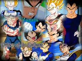 Vegeta by Lady1Venus