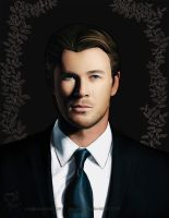 Chris Hemsworth - Blacks Series by boop-boop