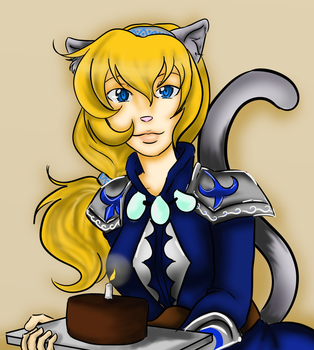 neko drawing by NailahOtter