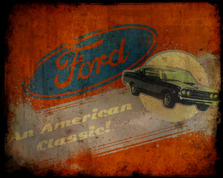Ford Vintage Ad by greenwinters