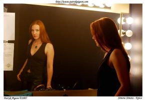 Simone Simons of Epica - 1 by MrSyn