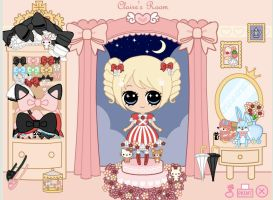 QueenOfDorks lolita dress up by Nishi06